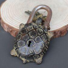 Design lock decoration of Chinese old bronze lock Tortoise