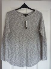 BANANA REPUBLIC IVORY & BLACK JUMPER SWEATER MED UK 12-14, EUR 40-42, US 8-10 BN
