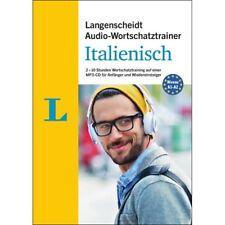 ITALIENISCH Anfänger-Wortschatz lernen - Audio-Training mit MP3-CD + Begleitheft