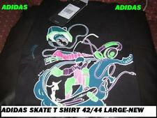 "ASIDAS MENS ""SKATE IT"" COTTON T SHIRT L TAGS/PACKET"
