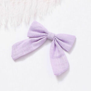 Cotton Linen Knotted Bow Hair Clip Hair Band Women Hairpin Girls Barrettes Pin