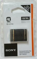 Genuine Sony NP-FW50 Rechargeable Battery Pack W Series, 1020mAh