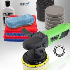 BITUXX® Exzenter Polierset Auto Poliermaschine 950W Autopflege mit NANO Politur