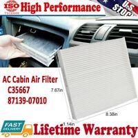 C35667 AC Cabin Air Filter for Honda Toyota Lexus Camry Scion Avalon Corolla RAV