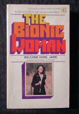 1976 THE BIONIC WOMAN by Eileen Lottman FN- 5.5 Berkley Medallion Paperback