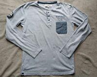 Tee shirt manches longues KAPORAL 16 ans