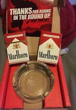 MARLBORO CIGARETTE  ASHTRAY