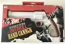 Wii - The House Of The Dead Overkill Hand Cannon Gun - Boxed - Official