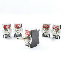 Toggle Switch ( On / Off ) Double Pole 20 AMP Rated DPST 12v / 24v *Pack of 5*