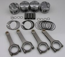 NIPPON RACING ITR PISTONS SCAT H-BEAM RODS 81.5MM .020 OVERSIZED TYPE R GSR B18C