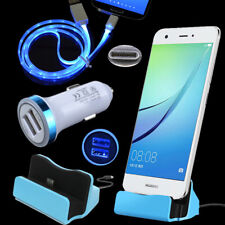 Dock Car Charger Type C Cable for Motorola Moto Z Z2 Play Force Blu Vivo XL 5 6