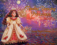 """Twelve Dancing Princesses Book Sewing Patterns 0or 18"""" Doll Clothes Joan Hinds"""