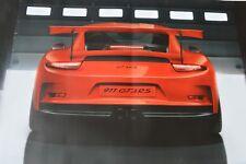 Original 2015 Porsche 911RS GT3 Factory Dealer Showroom Display Poster 911