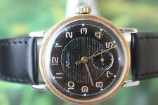 GREAT MEN'S VINTAGE GOLD-PLATED MECHANICAL USSR KAMA WATCH 16 JEWELS