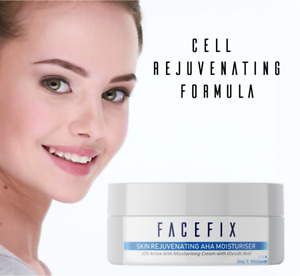 Glycolic Acid Moisturiser, Anti Aging, Target Acne and Wrinkles 10% AHA