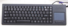 USB industrial keyboard with touchpad mouse integrated keyboard