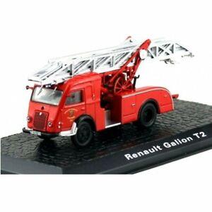 Renault Galion T2 Pompiers camion 1:72 Atlas Diecast