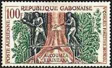 Timbre Flore Gabon PA2 * 21670