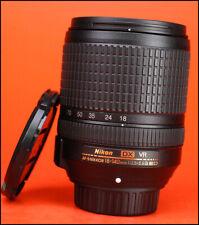 Nikon AF-S 18-140mm f3.5-5.6 G ED VR DX Lens - with Front & Rear Lens Caps