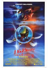 A Nightmare On Elm Street 5 - The Dream Child - A4 Laminated Mini Movie Poster