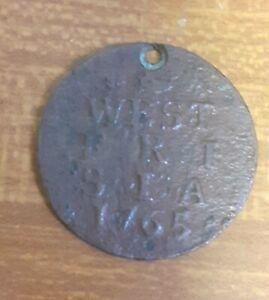 1765 West Friesland North Holland Netherlands 1 Duit Copper Coin