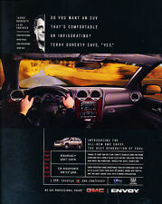 2001 GMC Truck Envoy - Classic Car Advertisement Print Ad J86