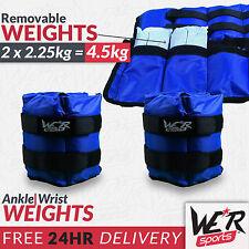 We R Sports Poids Réglables Chevilles/poignets 4 5 Kg/2 x 2 25 kg