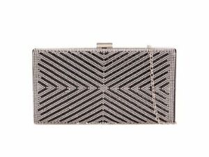 Women's Diamante Sparkly Crystal Evening Bag For Wedding Prom Bridal Night Out A