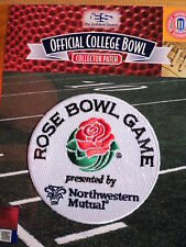 Official NCAA College Football Rose Bowl 2018/19 Patch Washington & Ohio State