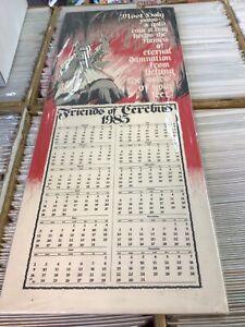 "Friends of Cerebus Calendar 1985 Dave Sim 24.75"" x 9.75"" Foamcore Backed"