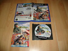 GODZILLA SAVE THE EARTH DE ATARI PARA LA SONY PLAY STATION 2 PS2 USADO COMPLETO