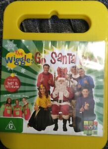 The Wiggles Go Santa Go DVD Region 4 Good Condition Free Shipping