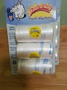 Davis #485 Knot-a-Bag plastic bag dispenser refills 97.5 ft. Per package 5 pkgs.