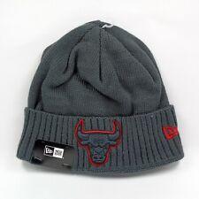 New Era Cap Men's NBA Chicago Bulls Team Crisp Cover Winter Knit Beanie Hat
