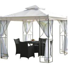 Metal Gazebo Canopy Outdoor Patio Pergola 8x8 Tent Sun Shade Awning Backyard NEW