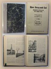 Lampe Über Berg und Tal Jahrgang 52 14. Bd 1929 Heft 1-12 komplett Ortskunde xy