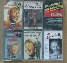 Lot de 6 Cassettes Tape K7 BOURVIL