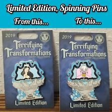 Disney LE Terrifying Transformations Pin Halloween Ursula The Little Mermaid