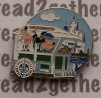 Disney Pin WDW Cast Lanyard Series 3 Transportation Ferry Mickey and Pluto