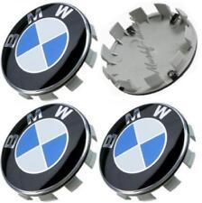4 Tappi Coprimozzo Borchie BMW 68mm Cabrio Coupè Berlina E36 E46 E90 E91 E92