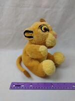 "Disney The Lion King Simba Cub Plush Hand Puppet Toy 8"" Stuffed Animal Applause"