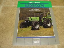 Deutz Allis 6265 6575 Tractor Dealer Sales Brochure
