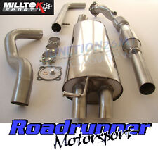 Milltek Golf MK4 Exhaust 1.8T Turbo Back Non Res Discrete & Downpipe Sports Cat