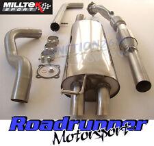 Milltek Golf MK4 Exhaust 1.8T Turbo Back Non Res Discrete & Downpipe Sports Cat