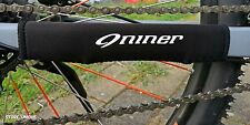 Bike Fahrrad 9 Niner Chain Slapper Protection Kettenstrebenschutz Weiss White 1
