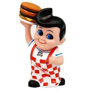 Big Boy Restaurant Piggy Bank 8 Inch Coin Bank Fast Food Restaurant Advertising