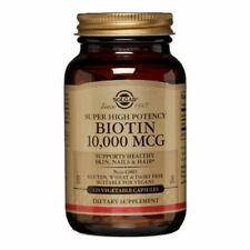 Biotine 120 Comprimé Veg 10000 mcg par SOLGAR