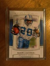 2019 Panini National Treasures Barry Sanders #30/35 SP Lions