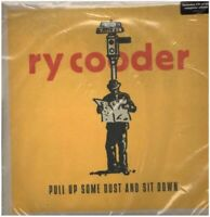 DOUBLE LP & CD Ry Cooder Pull Up Some Dust And Sit Down STILL SEALED Warner