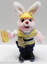 Lapin rose DURACELL electricien avec Boite - peluche figurine - automate TBE